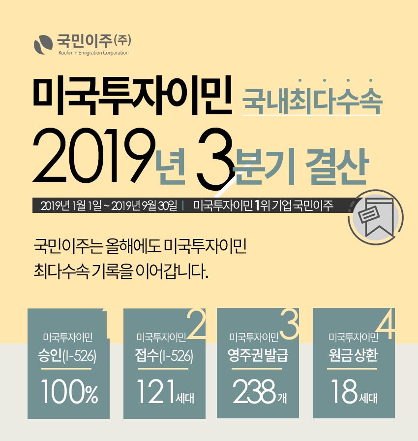 2019 3분기 결산